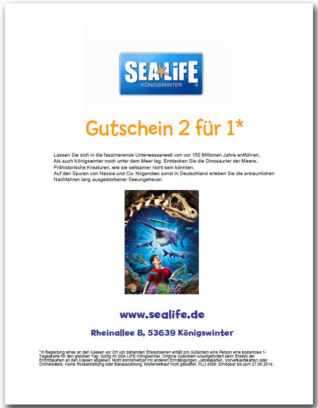 Location Sea Life Königswinter Strasse Rheinallee 8 Ort 53639